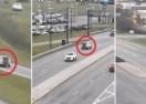 Ubacio u rikverc i vozeći se unatrag u suprotnom smjeru izašao iz gužve na autocesti te nastavio voziti (VIDEO)