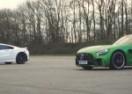 Mercedes-AMG GT vs Honda NSX – trka dva svijeta (VIDEO)