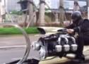 ZNANSTVENA FANTASTIKA: Oči vas ne varaju, ovo je motocikl s avionskim motorom (VIDEO)