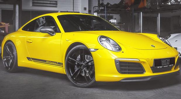 TechArt Porsche 911 Carrera T (1)