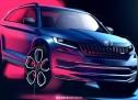 Škoda Kodiaq RS izgleda odlično na skicama