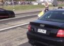 Ovo nitko nije očekivao: Kako je stari Audi A4 očitao bukvicu Chironu (VIDEO)