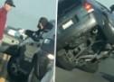 Što ti je karma: Vozač ovog terenca skupo je platio svoj bijes (VIDEO)