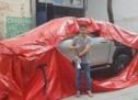 Genijalan izum: Ova golema vreća štiti auto od poplave (VIDEO)