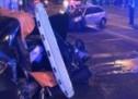 Prošao kroz crveno na semaforu i napravio tešku nesreću (VIDEO)