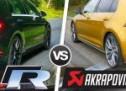 Usporedba zvuka: Golf R sa serijskim ili s auspuhom Akrapovič? (VIDEO)