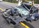 PRIMJER BEZBJEDNOSTI: Vozač izašao nepovrijeđen iz uništene Toyota MR2!
